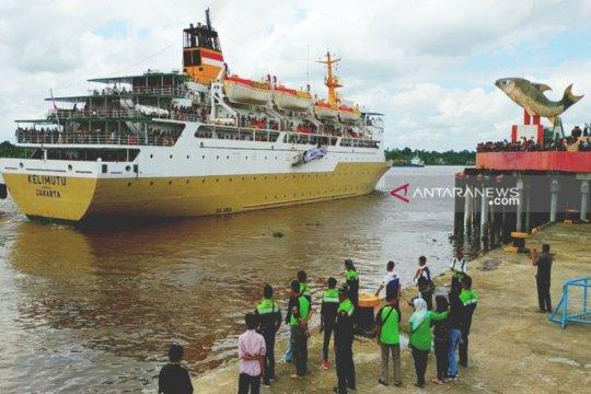 1.695 peserta mudik gratis diberangkatkan melalui Pelabuhan Sampit