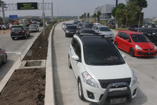"Puncak kepadatan Tol Pandaan-Malang diprediksi ""H+1"" Lebaran"