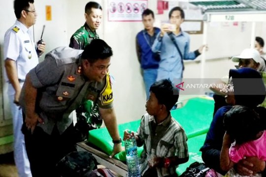 Petugas: Arus mudik di Kabupaten Kotawaringin Timur berjalan lancar
