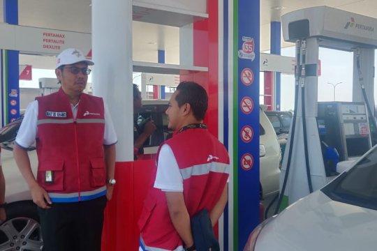 Penjualan BBM di SPBU tol Ngawi-Solo meningkat 300 persen