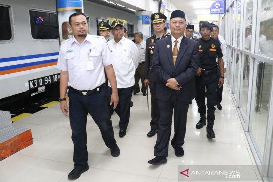 Walikota Medan tinjau pos pengamanan Ketupat Toba dan Stasiun KA