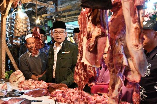Ridwan Kamil: jelang lebaran harga sembako mulai stabil