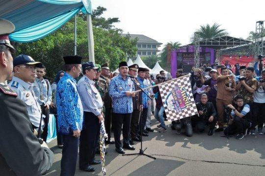 Ribuan pemudik gratis dilepas Bupati Tangerang