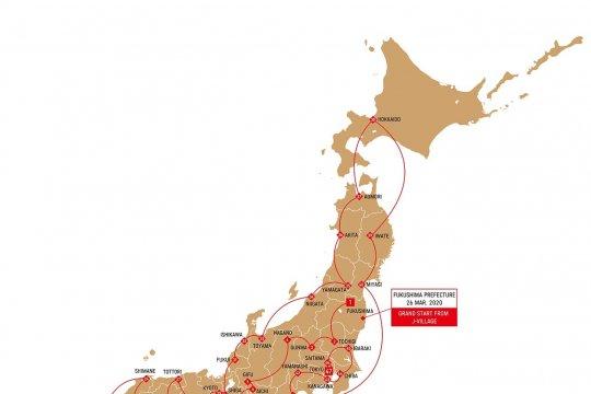 Obor Olimpiade 2020 akan singgahi area bekas tsunami