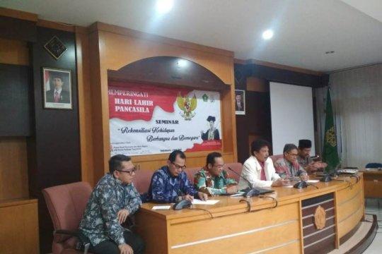 Enam rektor di Yogyakarta serukan rekonsiliasi kehidupan berbangsa