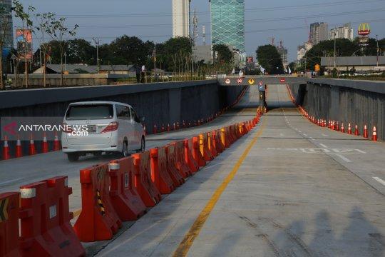 Underpass kurangi antrean kendaraan di Bunderan Satelit Surabaya