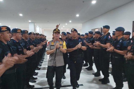 Kapolda tatap muka dengan personel Brimob