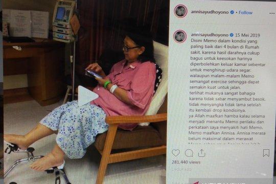 Annisa Pohan kenang kondisi Ani Yudhoyono yang sempat membaik