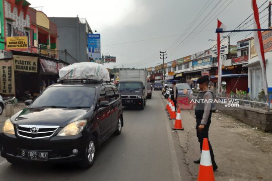 Puncak arus mudik di Sukabumi Jabar diprediksi H-1 Lebaran