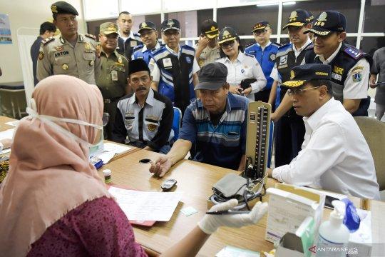 728 sopir bus AKAP Terminal Pulo Gebang lulus tes kesehatan