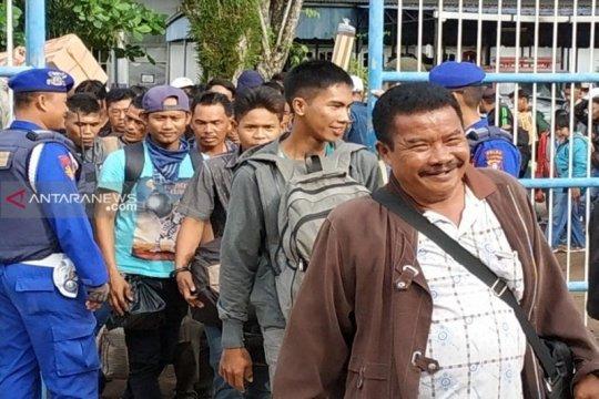 Peningkatan penumpang kapal di Sampit imbas mahalnya tiket pesawat