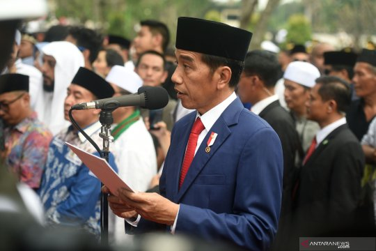 Jokowi sebut Ibu Ani peduli masyarakat daerah bencana dan perbatasan