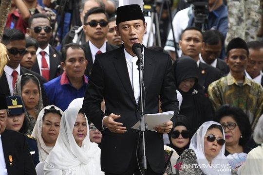 Keluarga terima kasih kepada pemerintah pemakaman Ibu Ani lancar