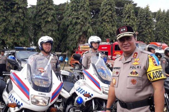 Kapolda Lampung kunjungi 600 personel bertugas amankan MK