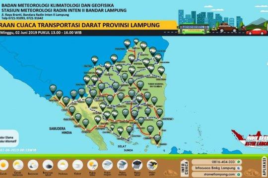 BMKG peringatkan potensi hujan lebat dan petir di Lampung