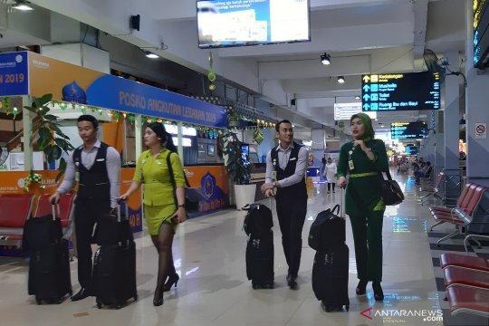 Jumlah penumpang di Bandara Halim menurun hingga H-3