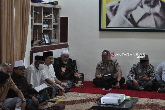 Polda-Ansor amankan kunjungan Ma'ruf Amin ke Palu-Sigi