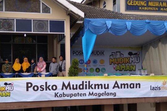 Ada posko mudik Muhammadiyah di KM 11 Jalan Magelang-Yogyakarta
