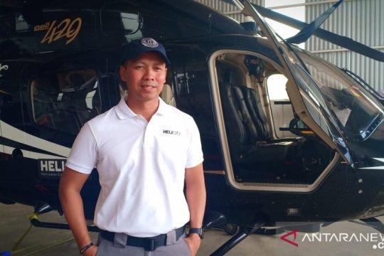 Helikopter jadi pilihan angkutan mudik Jakarta - Bandung