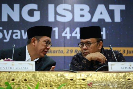 Dua alasan penetapan Lebaran 2019 pada Rabu