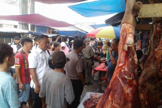 Satgas Pangan inspeksi mendadak ke Pasar Toboali
