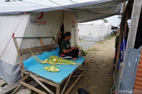 Kondisi jelang lebaran di pengungsian Balaroa