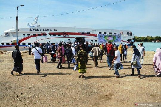 Penumpang kapal cepat Palembang-Bangka masih ramai