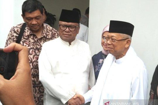 Ma'ruf Amin akan lebaran di Jakarta dan bertemu Jokowi