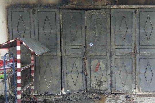 Kebakaran ruko di Sampali dua tewas