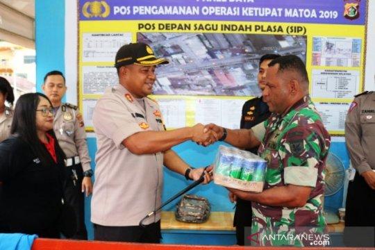 Kapolres Jayapura Kota tinjau pos pengamanan operasi ketupat