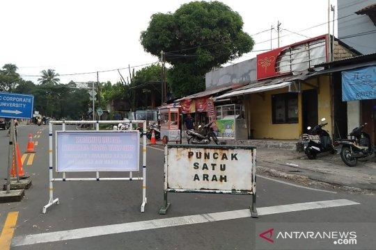 Sempat diberlakukan satu arah, lalu lintas Puncak Bogor kembali normal