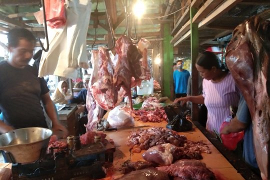 Harga daging sapi di Palangka Raya naik