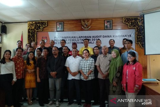 KPU Bali serahkan hasil audit dana kampanye peserta Pemilu 2019