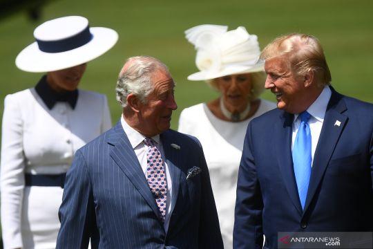 Trump kunjungi Inggris