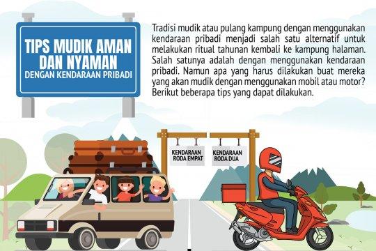 Tips mudik aman dan nyaman