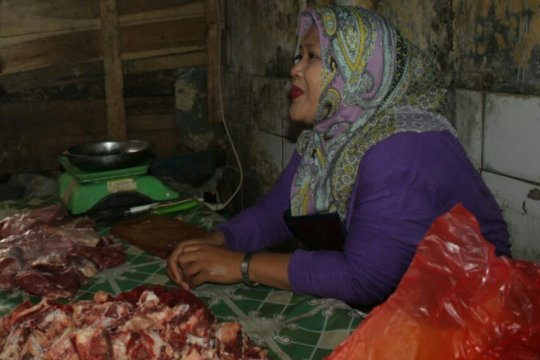 Harga daging sapi di Purwakarta stabil
