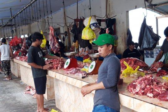 Harga daging sapi di Ternate, H-1 Lebaran naik