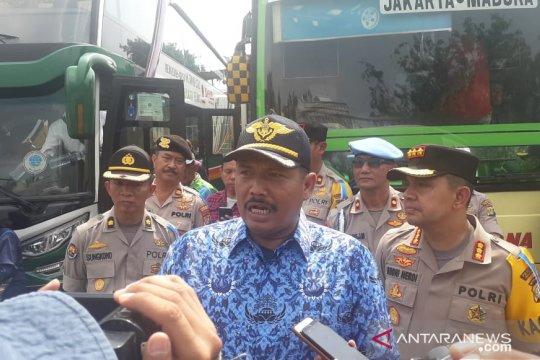 Terminal bus Tanjung Priok telah berangkatkan 8.487 pemudik