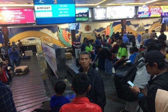 Pemudik Lebaran 2019 di Bandara Adisutjipto H-2 mulai menurun
