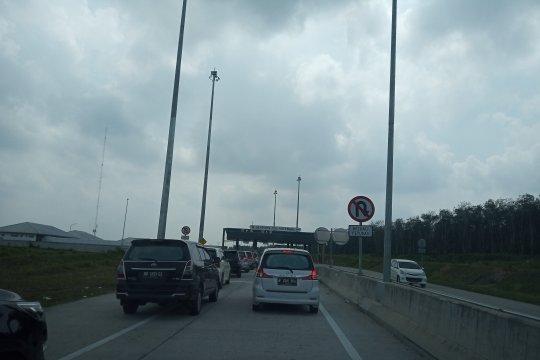 Pintu Tol Natar Lampung sepi pemudik jelang Lebaran