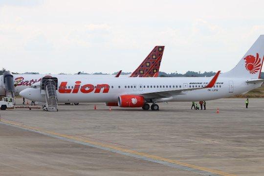 Ketepatan waktu Lion Air capai 89,73 persen