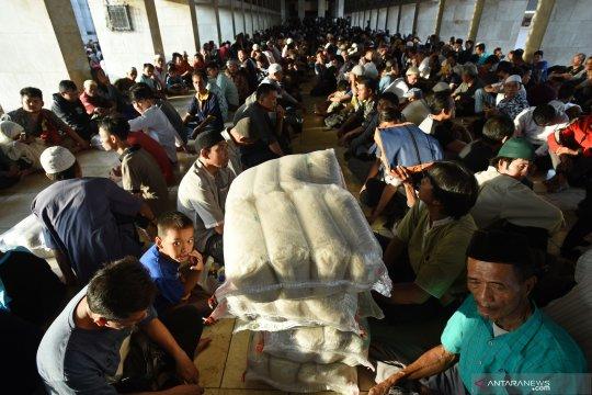 Masjid Agung Palembang kumpulkan zakat 4,2 ton beras