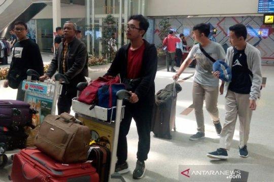 Pemudik H-1 Bandara Internasional Kualanamu Deli Serdang sepi