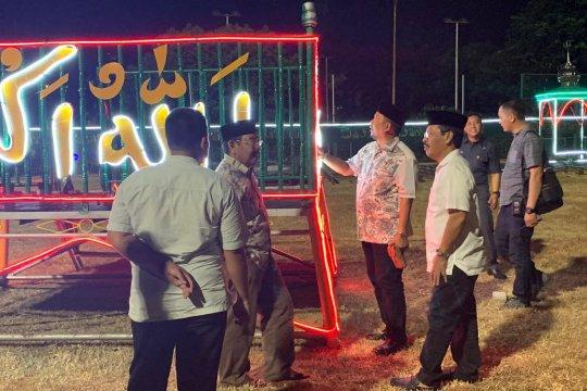 Pj Wali kota Makassar tinjau lokasi Shalat Idul Fitri