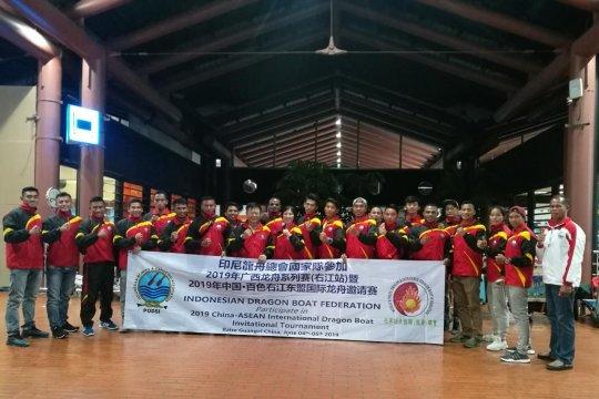 22 atlet pelatnas ikut kejuaraan dayung perahu naga China-ASEAN