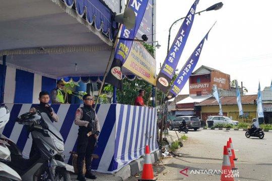 Polri rinci kronologi bom bunuh diri Pos Pantau Lalin Kartasura
