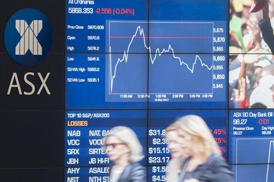 Bursa saham Australia bangkit, Indeks ASX 200 dibuka naik 5,80 poin