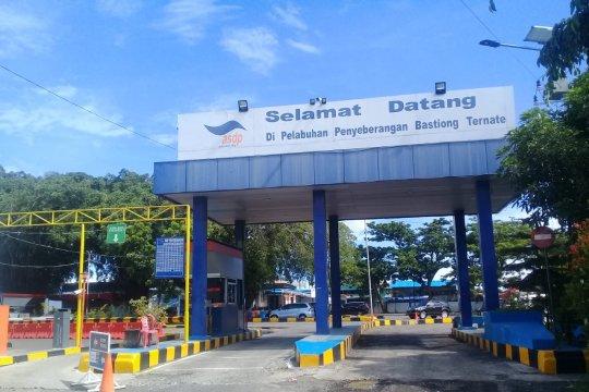 Pelabuhan ASDP Ternate terpantau normal hari H Lebaran