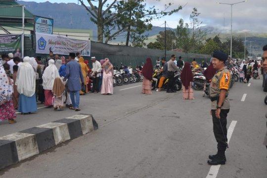 Kapolres : shalat Id di Jayawijaya berlangsung aman