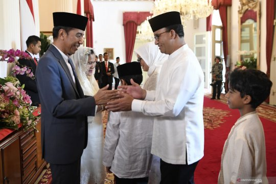 Hoaks, Jokowi pindahkan ibu kota karena tamu asing suka bertemu Anies